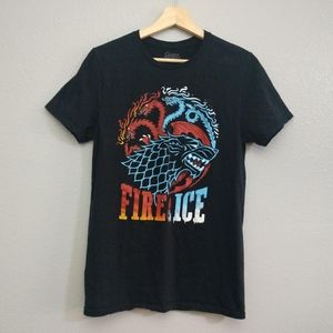 3/$20🖤 Game of Thrones Fire Ice Dragon Wolf Shirt